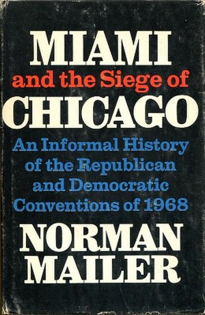 Miami and the Siege of Chicago - Cover of the first edition