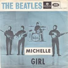 The Beatles — Michelle (studio acapella)