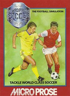 <i>Microprose Soccer</i> video game