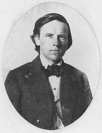 George H. Perkins - Perkins as a young midshipman during the 1850s.