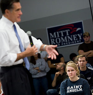 "I took this picture at the ""Ask Mitt Anyt..."