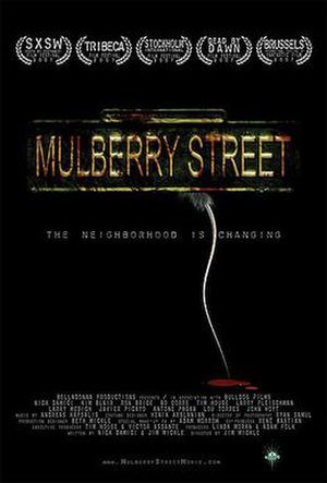 Mulberry Street (film) - Promotional film poster