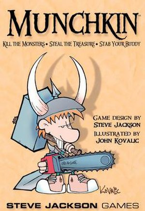 Munchkin (card game) - Game Cover