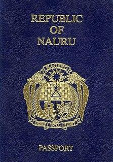Nauruan passport