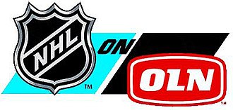 NHL on Versus - The NHL on OLN logo, used until the switch of the network's name to Versus.