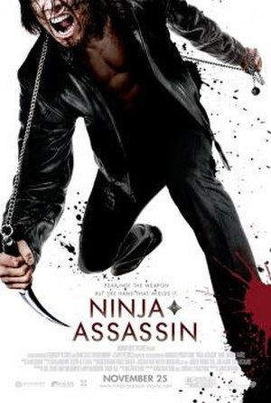 Ninja Assassin - Theatrical release poster