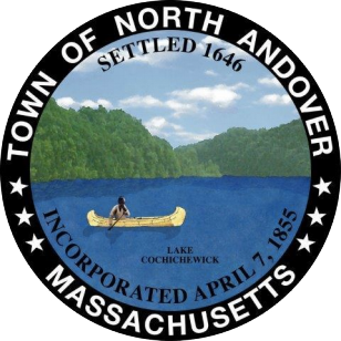 Official seal of North Andover, Massachusetts