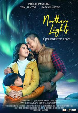 Northern Lights: A Journey to Love - Theatrical release poster