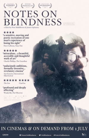 Notes on Blindness - British release poster