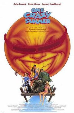 One Crazy Summer - Theatrical release poster