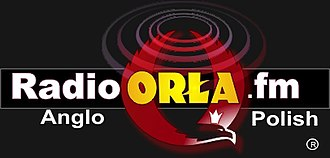 Anglo-Polish Radio - Early logo of ORLA.fm from 2007