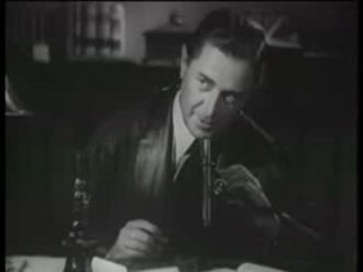 Reginald Owen - Reginald Owen as Sherlock Holmes in A Study in Scarlet (1933)