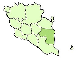 Location of Pekan District  ڤكن