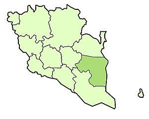 Pekan District - Image: Pekan district highlighted