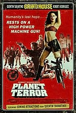 Planet Terror and Death Proof posters for the Netherlands.