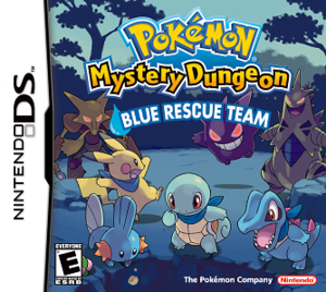 Pokémon Mystery Dungeon: Blue Rescue Team and Red Rescue Team - Image: Pokémon Mystery Dungeon Blue Rescue Team Coverart