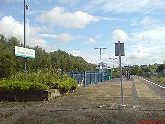 New Inn - Image: Pontypool and new inn station