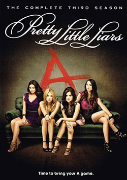 Pretty little liars season 3 dvd cover