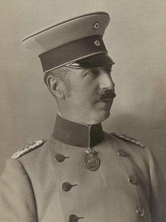Prince Aribert of Anhalt - Image: Prince Aribert Anhalt