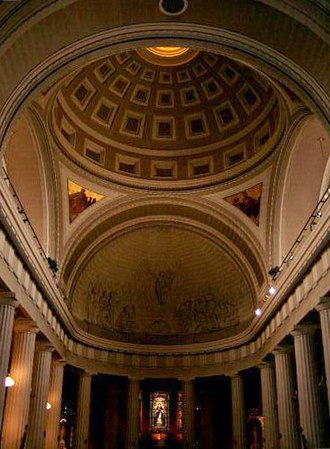 George Papworth - The dome of St Mary's Pro-Cathedral, Dublin
