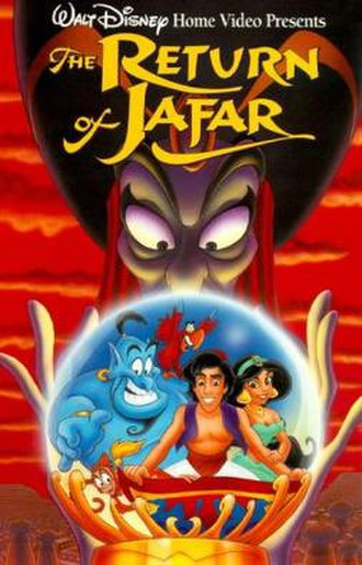 The Return of Jafar - VHS release cover