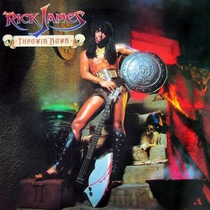 Throwin' Down - Image: Rick James Throwin Down
