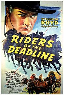 <i>Riders of the Deadline</i> 1943 film by Lesley Selander