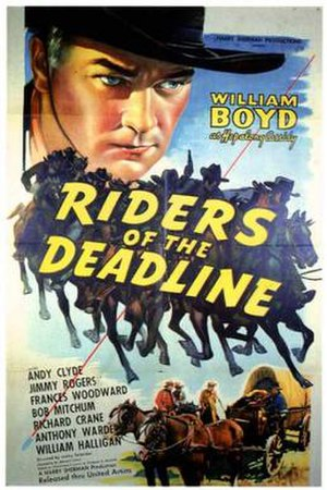 Riders of the Deadline - Theatrical release poster
