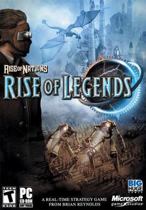 Rise of Nations: Rise of Legends - Image: Rise Of Legends Box
