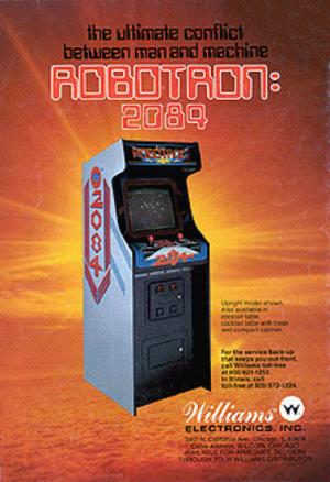 Robotron: 2084 - Image: Robotron flyer