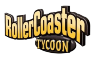 RollerCoaster Tycoon - Logo from the first game. Other games use a similar logo.