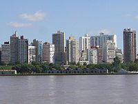 Rosario skyline.