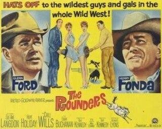 <i>The Rounders</i> (1965 film) 1965 film by Burt Kennedy