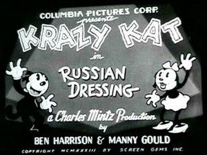 Russian Dressing (film) - Title card