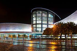 Bay City, Metro Manila - Image: SM Mall of Asia main facade