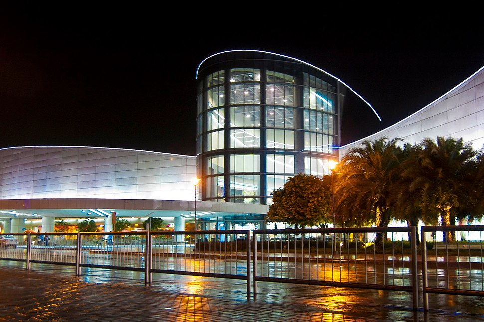 SM Mall of Asia main facade