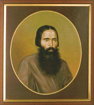 Basil of Pavlovsky Posad - Portrait of St Vasily Gryaznov