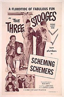 <i>Scheming Schemers</i> 1956 film by Jules White