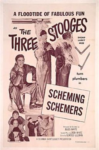 Scheming Schemers - Image: Scheming Schemers 1956onesheet