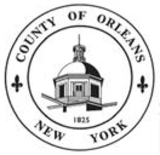 Orleans County, New York - Image: Seal of Orleans County, New York