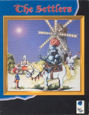 The Settlers (video game) - European cover art