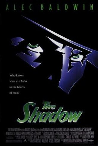 The Shadow (1994 film) - Theatrical release poster
