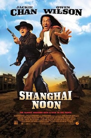Shanghai Noon - Theatrical release poster