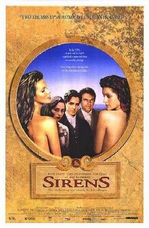 Sirens (1994 film) - Theatrical release poster