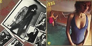 Jo Jo Zep & The Falcons - Cover for their mini-LP So Young (1978)
