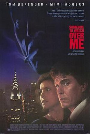 Someone to Watch Over Me (film) - Theatrical release poster