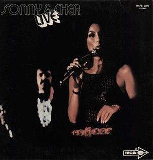 <i>Sonny & Cher Live</i> 1971 live album by Sonny & Cher