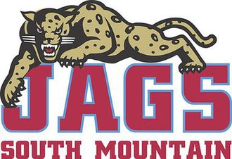 South Mountain High School - Image: South Jaguars