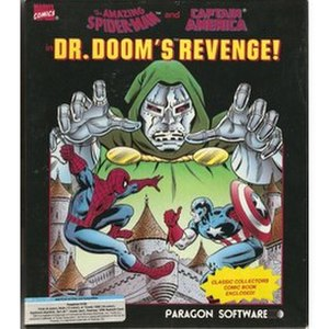 Spider-Man and Captain America in Doctor Doom's Revenge - Image: Spider Man and Captain America in Doctor Doom's Revenge cover