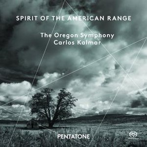 Spirit of the American Range - Image: Spirit of the American Range, Oregon Symphony